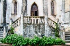 入口在基督徒修道院里 库存照片