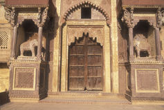 入口宫殿rajput 库存照片