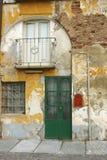 入口房子意大利老对都灵venaria 免版税库存照片