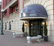 入口旅馆 库存图片