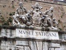 入口梵蒂冈 库存图片
