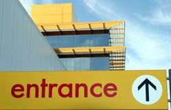 入口符号 免版税图库摄影