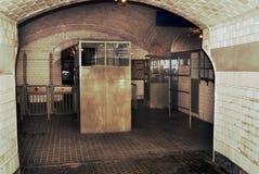 入口老地铁 库存照片