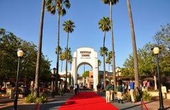 入口通用好莱坞的工作室 库存图片