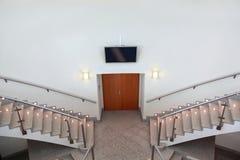 入口飞行前梯子二 免版税库存照片