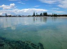 入口, NSW中央海岸澳大利亚 免版税库存图片