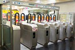 入口巴黎地铁 免版税库存图片