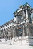 入口hofburg皇家宫殿 库存照片