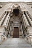 入导致一个历史的清真寺,开罗,埃及 库存照片