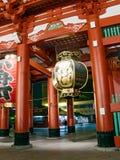 入日本寺庙 库存图片