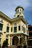 入曲拱和Chakkaphong清真寺曼谷泰国主要尖塔  库存照片