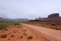 入沙漠 免版税库存照片
