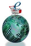 全世界互联网销售额   库存图片