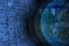 全世界技术 免版税图库摄影