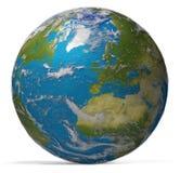 全世界行星的地球 NAS装备的此图象Earth.Elements 皇族释放例证