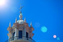 全国万神殿-圣诞老人Engracia教会在里斯本, 库存照片