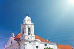 全国万神殿-圣诞老人Engracia教会在里斯本, 库存图片