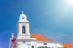 全国万神殿-圣诞老人Engracia教会在里斯本, Portuga 库存图片