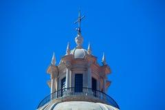 全国万神殿-圣诞老人Engracia教会在里斯本, Portuga 免版税库存图片
