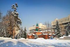 全国乐器博物馆,阿尔玛蒂,哈萨克斯坦 库存照片