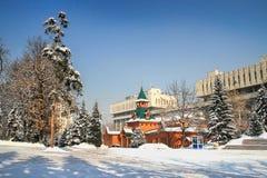 全国乐器博物馆,阿尔玛蒂,哈萨克斯坦 库存图片