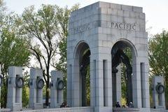 全国二战纪念品在华盛顿特区, 库存图片