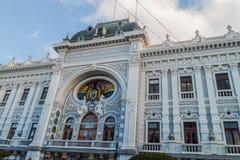 全国代表大会大厦在苏克雷,Bolivi的首都 库存照片