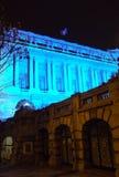 全国军界在布加勒斯特,罗马尼亚 免版税库存图片