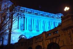 全国军界在布加勒斯特,罗马尼亚 免版税图库摄影