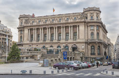 全国军界的宫殿,布加勒斯特 库存图片