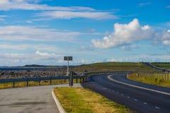 全国在南部挪威的路44和海岸线 免版税库存照片