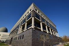 全国大学图书馆在阿斯塔纳 免版税库存图片
