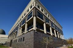 全国大学图书馆在阿斯塔纳 库存照片
