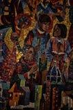 全国大教堂华盛顿马赛克 免版税库存照片