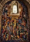 全国大教堂华盛顿马赛克 库存照片