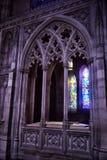 全国大教堂,内部的片段 免版税库存照片