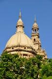 全国宫殿在巴塞罗那 库存图片