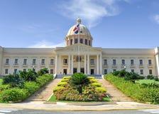 全国宫殿-圣多明哥,多米尼加共和国 库存图片
