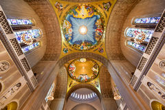 全国寺庙天主教的大教堂 库存图片