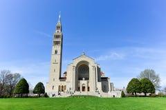 全国寺庙天主教的大教堂 图库摄影