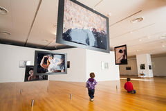 全国当代艺术博物馆 免版税图库摄影