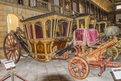 全国教练博物馆(里斯本,在葡萄牙) 免版税库存图片