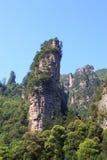 全国森林公园风景在张家界 免版税库存图片