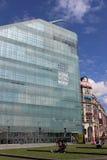 全国橄榄球博物馆大厦,曼彻斯特 库存照片
