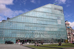 全国橄榄球博物馆大厦,曼彻斯特 图库摄影