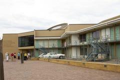 全国民权的博物馆,孟菲斯, TN游人 免版税库存图片