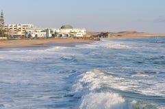 全国海洋水族馆在斯瓦科普蒙德,纳米比亚 库存照片