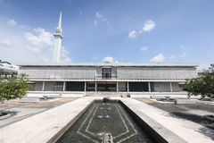 全国清真寺在吉隆坡,马来西亚-系列1 免版税库存图片