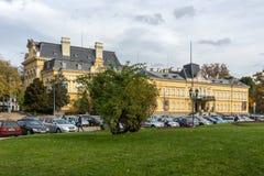 全国美术画廊,索非亚,保加利亚大厦  库存照片