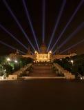 全国美术馆在巴塞罗那 免版税库存图片